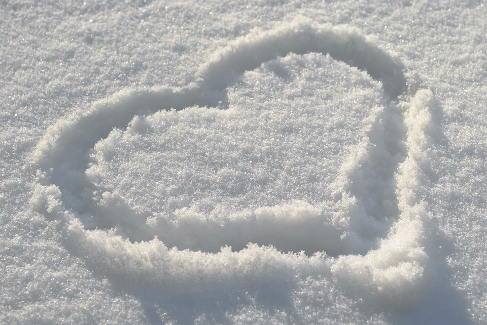 Heart in the Snow
